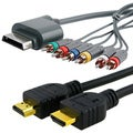 BasAcc HDMI Cable/ Component HD AV Cable for Microsoft Xbox 360