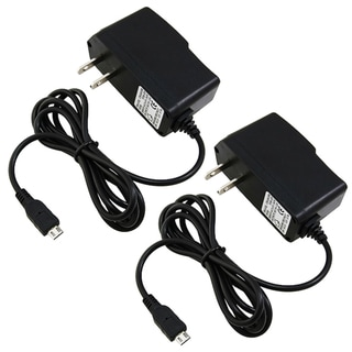 BasAcc Travel Charger for Blackberry Storm 9500/ Motorola Droid (Pack of 2)