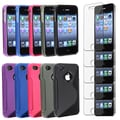 BasAcc TPU Case/ Screen Protector for Apple� iPhone 4/ 4S