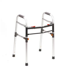 Two Button Folding Universal Walker