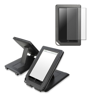 BasAcc Black Case/ Screen Protector for Barnes & Noble Nook Color