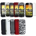 BasAcc Black/ Crystal/ Zebra Case/ Screen Protector for HTC myTouch 4G