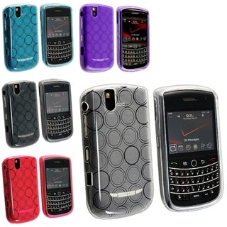 BasAcc White/ Blue/ Smoke/ Purple TPU Case for Blackberry Tour 9630