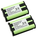 BasAcc Compatible Ni-MH battery for Panasonic HHR-P104 Cordless Phone (Pack of 2)