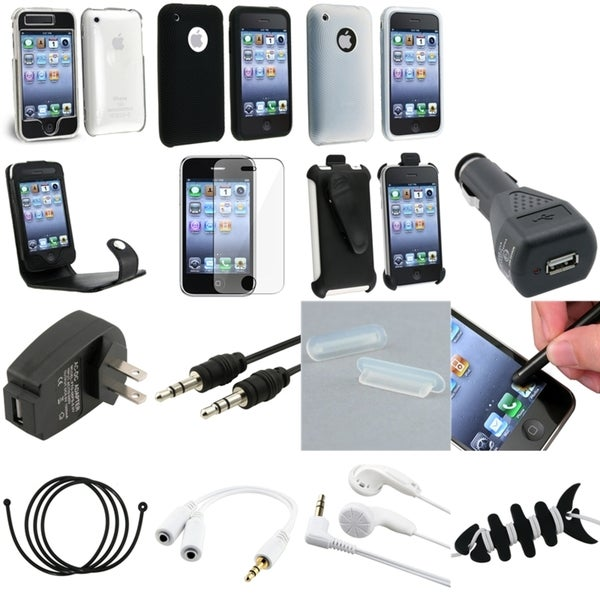 BasAcc Case/ LCD Protector/ Splitter/ Cable for Apple® iPhone 3GS