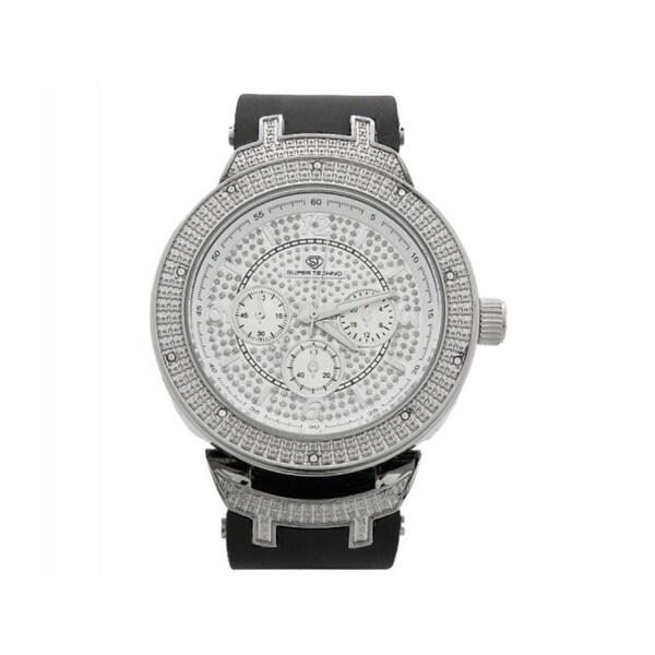 Super Techno Men's Diamond Watch