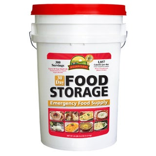 Augason Farms 30-Day Food Storage Emergency Pail
