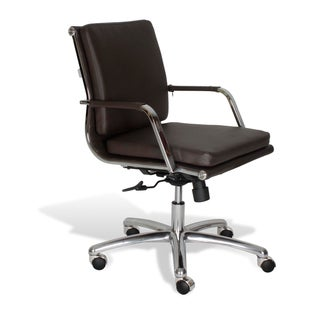 J & K Modern Office Chair in Brown