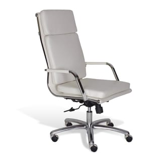 Professional High Back Office Chair in White