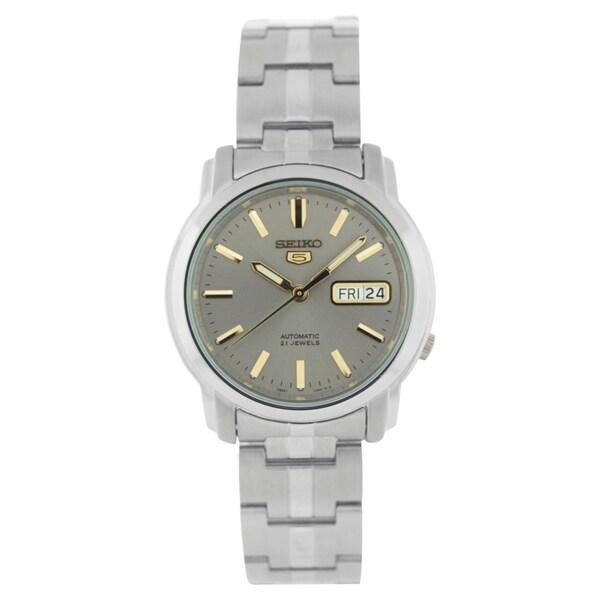 Seiko Men's 5 Stainless Steel Watch