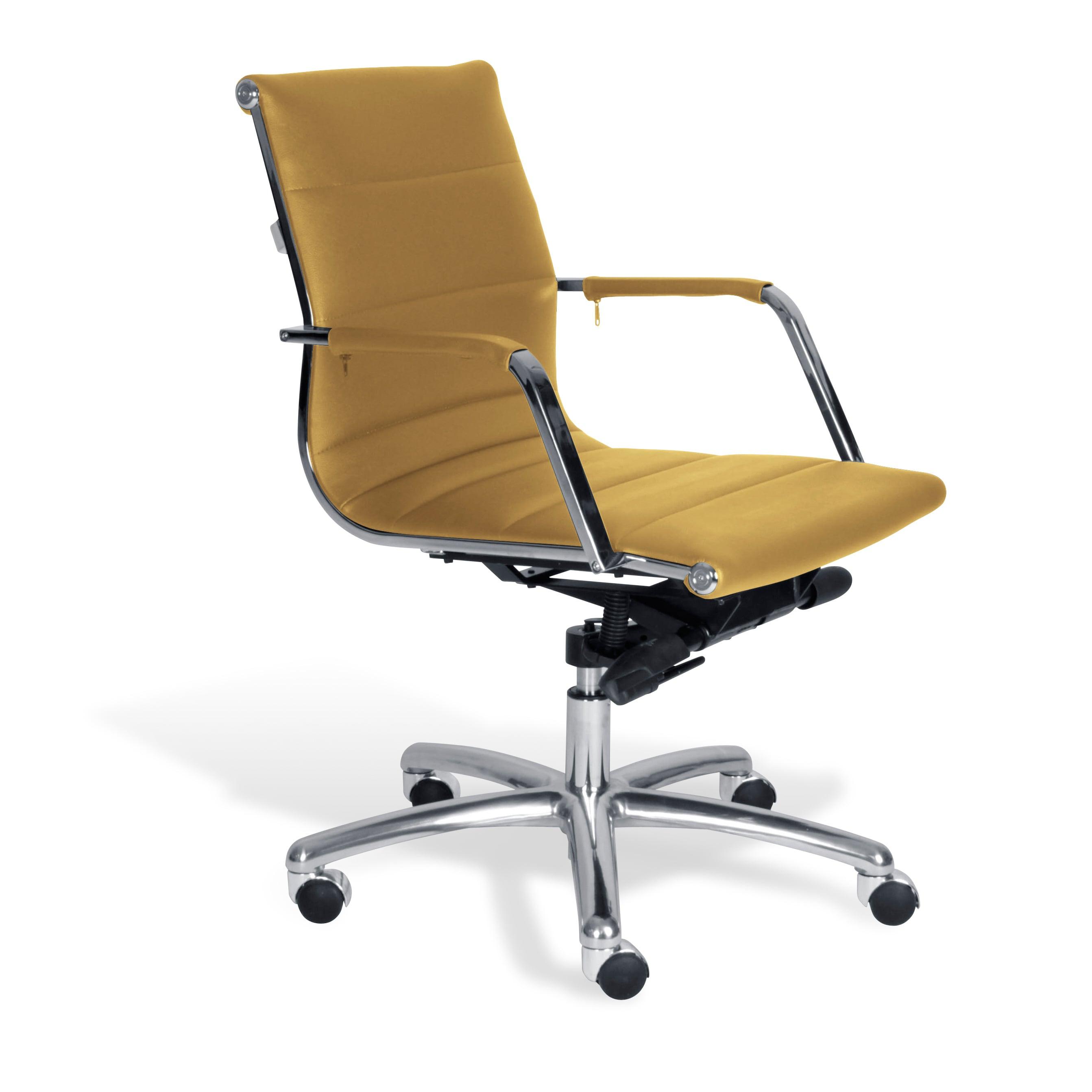 Jesper Office Mustard Commercial Grade Modern Office Chair Overstock