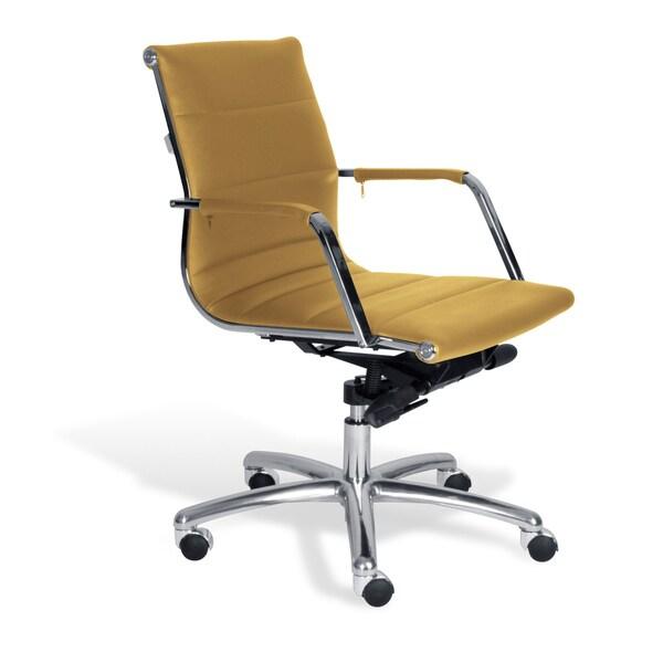 Jesper Office Mustard Commercial Grade Modern Office Chair
