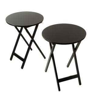 Bianco Collection Furniture Black Folding Table