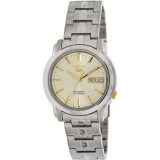 Seiko Men's 5 Automatic SNKK69K Stainless Steel Automatic Watch