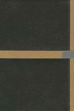 NIV Study Bible: New International Version, Black / Camel, Italian Duo-Tone (Paperback)