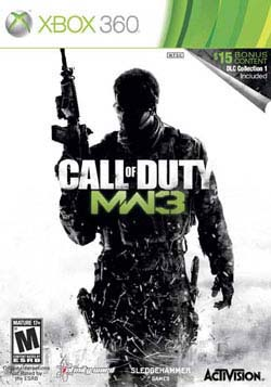 Xbox 360 - Call Of Duty Mw3 W/Dlc