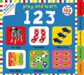 Play and Learn 123: First 100 Words (Board book)