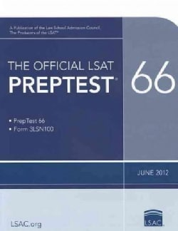The Official Lsat Preptest 66: June 2012 Lsat (Paperback)