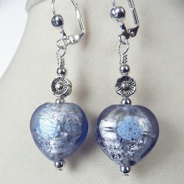 'Violet' Milleflori Earrings