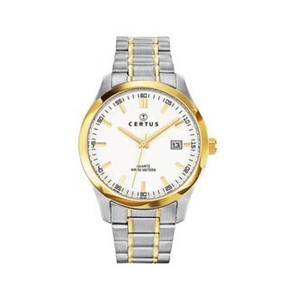 Certus Paris Men's Two-Tone Stainless-Steel Date Quartz Watch