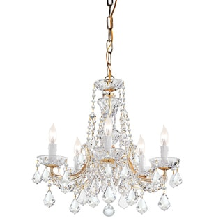 Maria Theresa Gold 5-light Chandelier