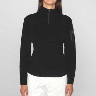 Arc'teryx Women's 'Rho' Black Zip Neck Ski Jacket
