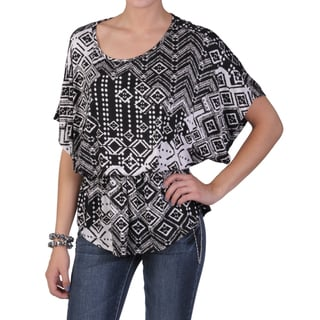 Tressa Designs Women's Contemporary Plus Short-sleeve Knit Top