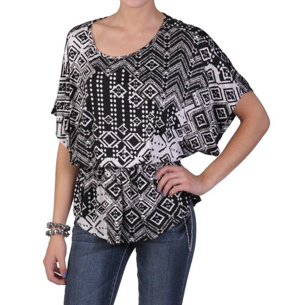 Tressa Designs Women's Contemporary Plus Short-sleeve Knit Top