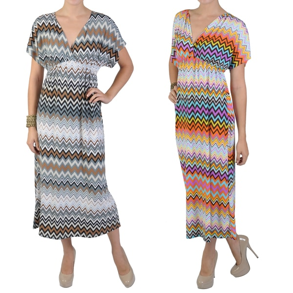 Tressa Designs Women's V-neck Empire Waist Dress