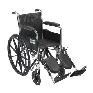CS16FA-ELR Chrome Sport Wheelchair with Various Arm Styles and Front Rigging Options