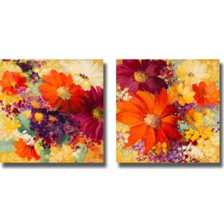 Lanie Loreth 'Love and Light I and II' 2-piece Canvas Art Set