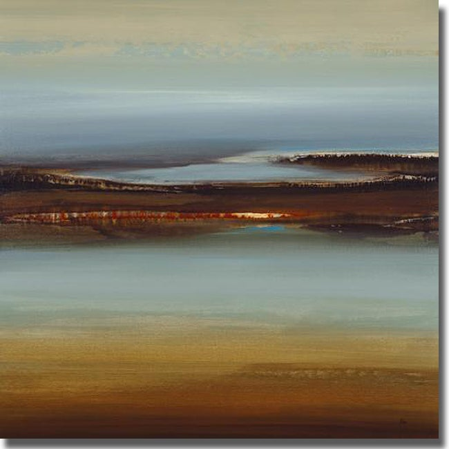 Lisa Ridgers 'Zen Land' Canvas Art