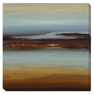 Lisa Ridgers 'Zen Land' Canvas Art