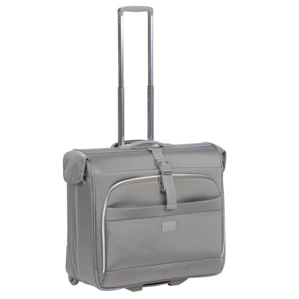 Delsey Helium Pilot Rolling Garment Bag Upright