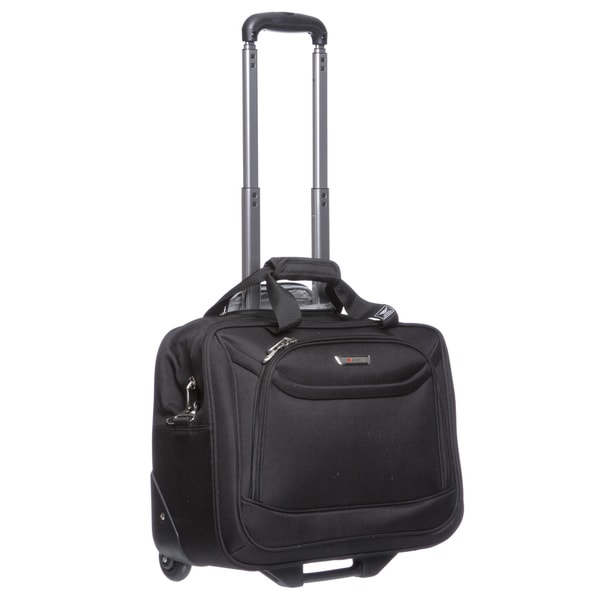 Delsey Helium Fusion Lite 2.0 Rolling Trolley Carry On Tote