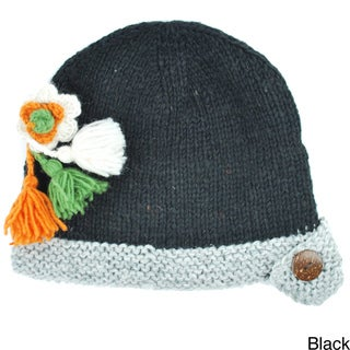 Drop Flower Bella Hat (Nepal)