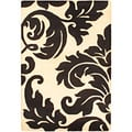 Hand Tufted Savannah White Wool Rug (4 x 6)