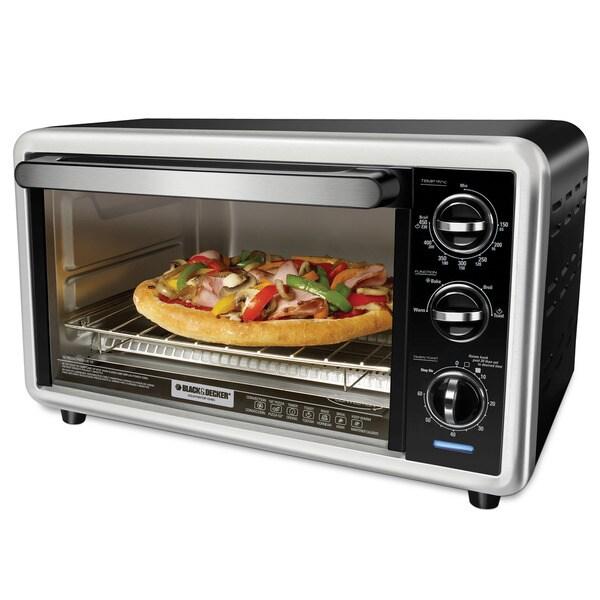 Black & Decker 60-minute Timer Countertop Oven