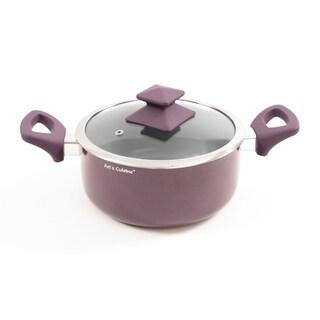 Art & Cuisine Aluminum/Ceramic Austral Pot with Lid