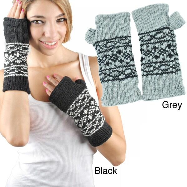 Classic Knit Armwarmer (Nepal)