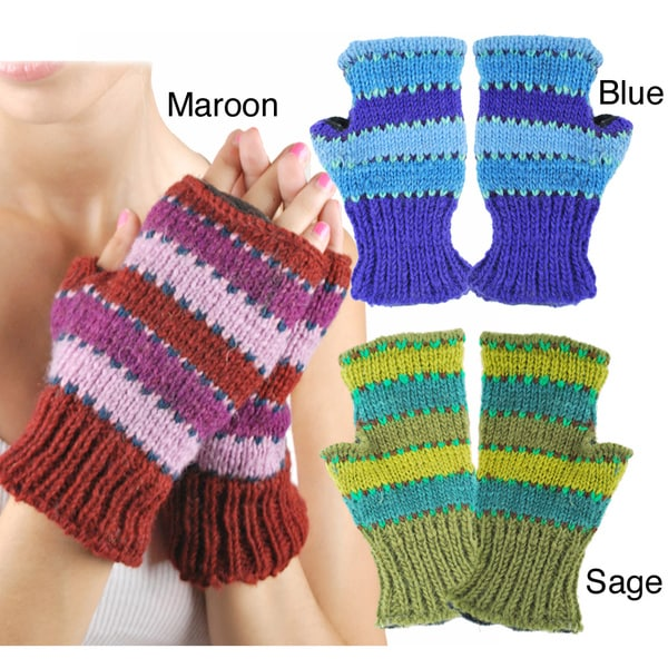 Track Knit Handwarmer (Nepal)