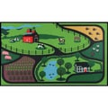 "Farm Design Kid's Mat (27"" x 48"")"