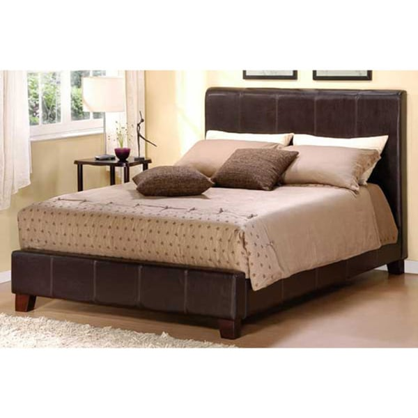 Castillian Dark Brown Queen Bed