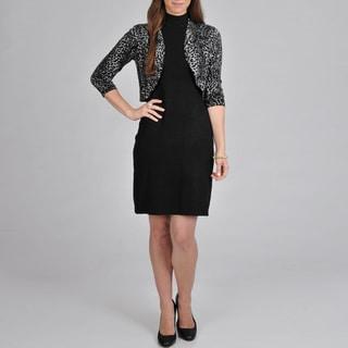 Lennie for Nina Leonard Women's Sweater Dress