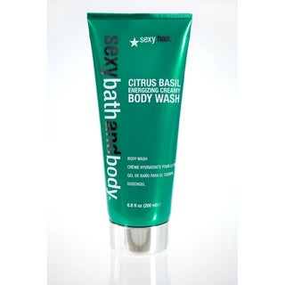 Sexy Hair Sexy Bath and Body Citrus Basil Energizing Creamy 6.8-ounce Body Wash