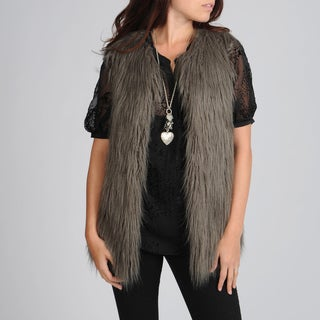 Hawke & Co Women's Faux Fur Vest
