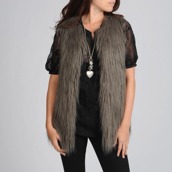 Hawke & Co Women's Faux Fur Vest