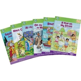LeapFrog Tag Learn to Read Phonics Book Set 4: Advanced Vowels Educat