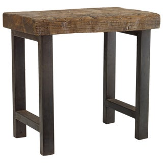 Willow Iron Leg End Table