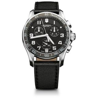 Swiss Army Men's Chrono Classic Black Dial Watch